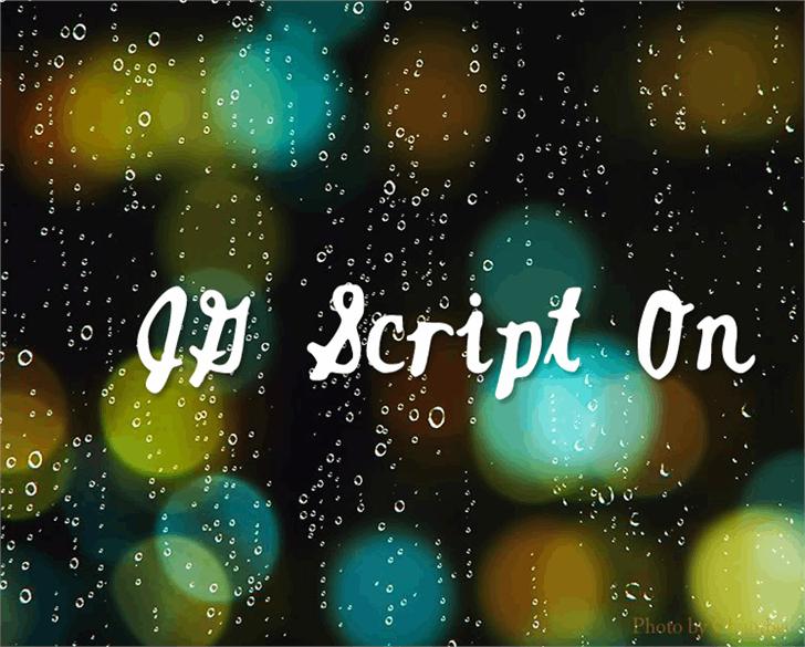 Image for JGScriptOn font