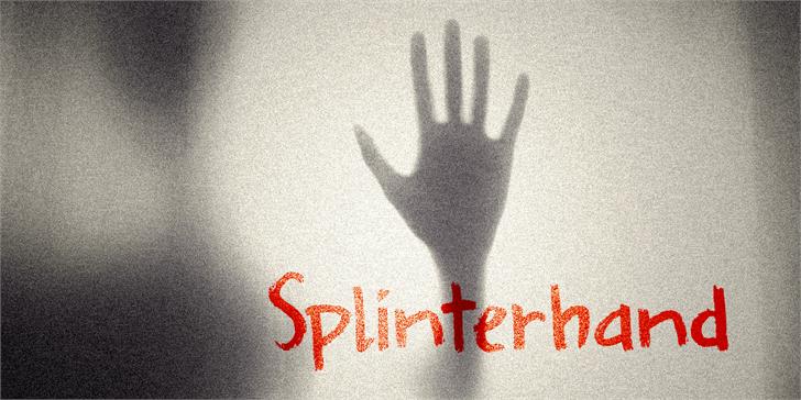 Image for DK Splinterhand font