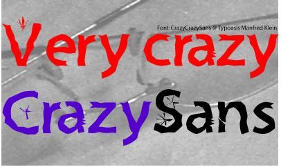 Image for Crazy Crazy Sans font