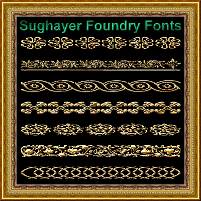 Vintage Borders_010 font by Sughayer Foundry