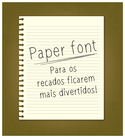 Image for paperfont1 font
