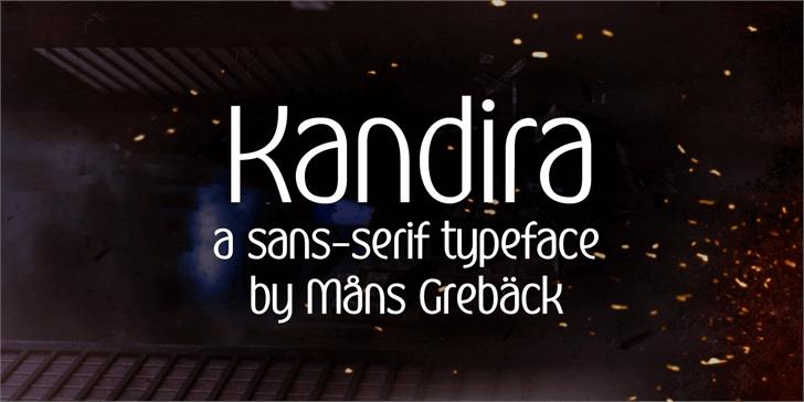 Image for Kandira PERSONAL font