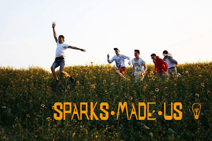 SPARKS MADE US font by SpideRaYsfoNtS