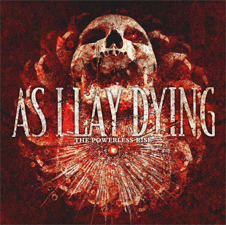 Image for As I Lay Dying Logo Font