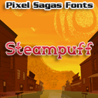 Steampuff font by Pixel Sagas