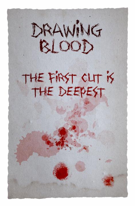 Drawing Blood font by David Kerkhoff