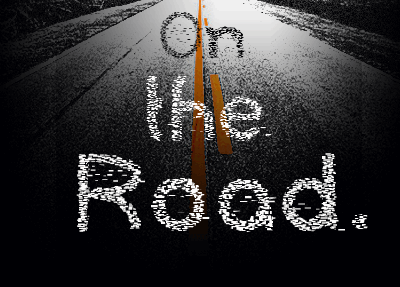 Image for On The Road font