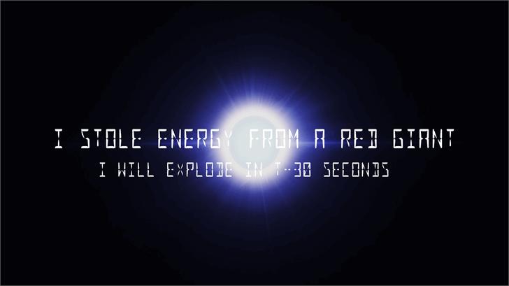 Image for Nova Display font