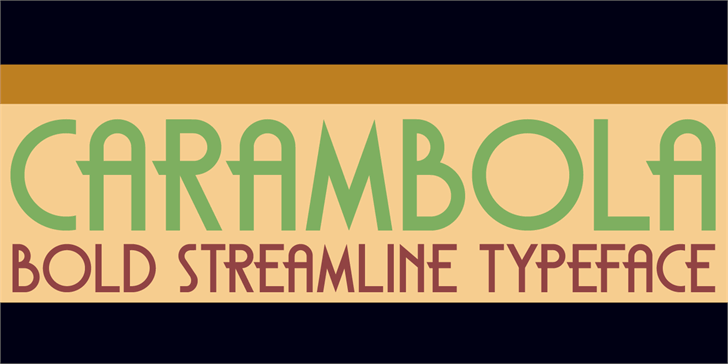 Image for DK Carambola font