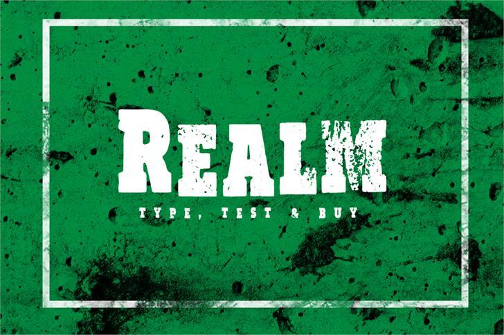 Image for Vtks Realm font
