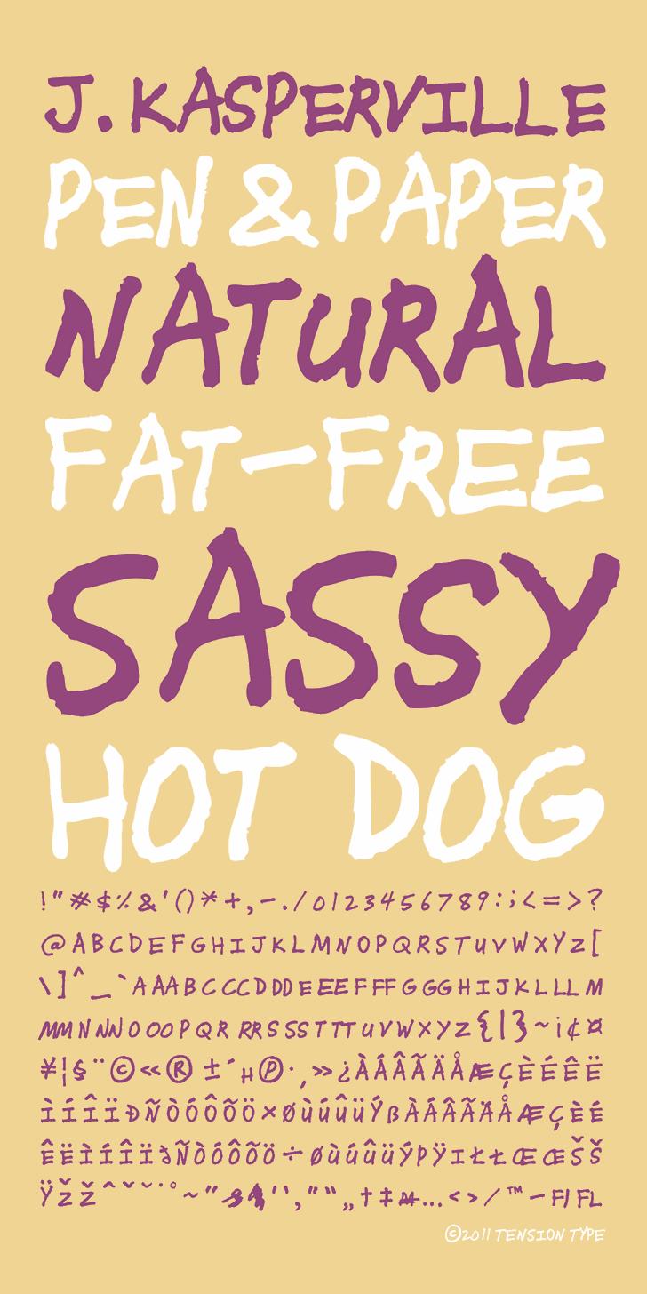 Image for J.Kasperville font