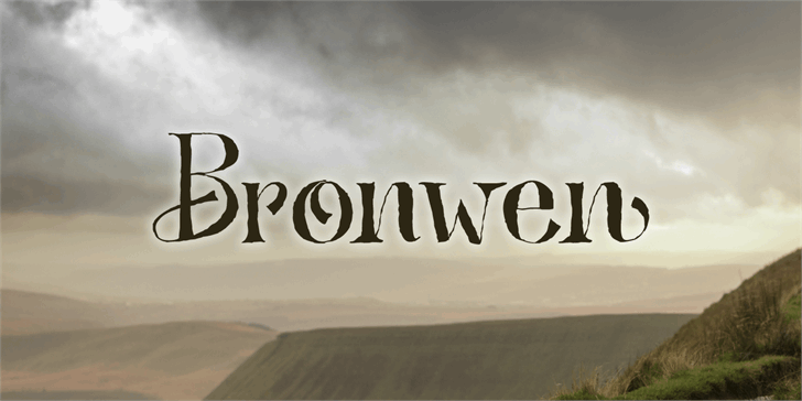 Image for Bronwen DEMO font