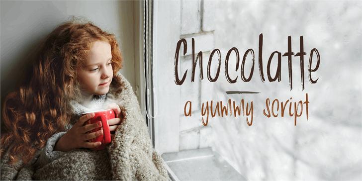Image for DK Chocolatte font