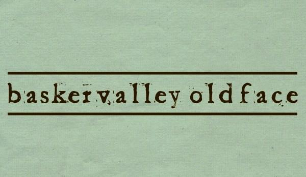 Image for Baketvalley Old Face font
