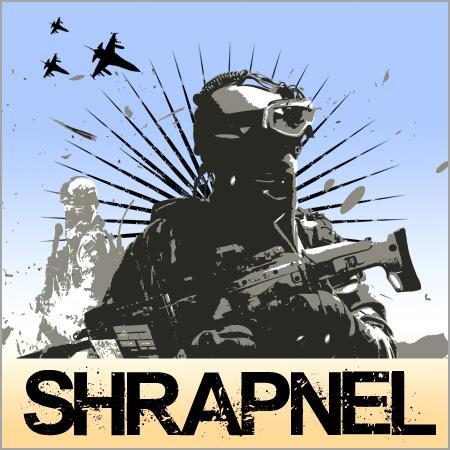 Shrapnel font by Chris Vile
