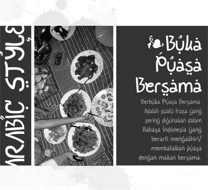 Image for Buka Puasa Bersama font