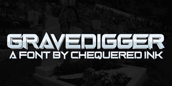 Image for Gravedigger font