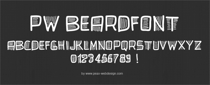 Image for PWBeardfont