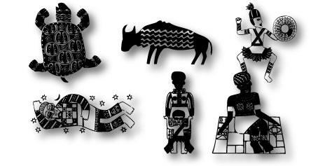 Image for Africain font