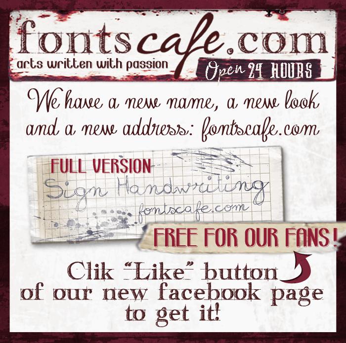 sign-handwritng_demo-version font by FontsCafe
