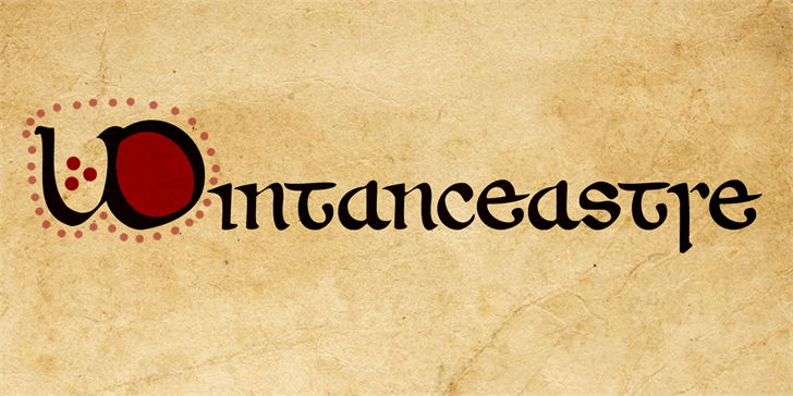 Image for Wintanceastre DEMO font