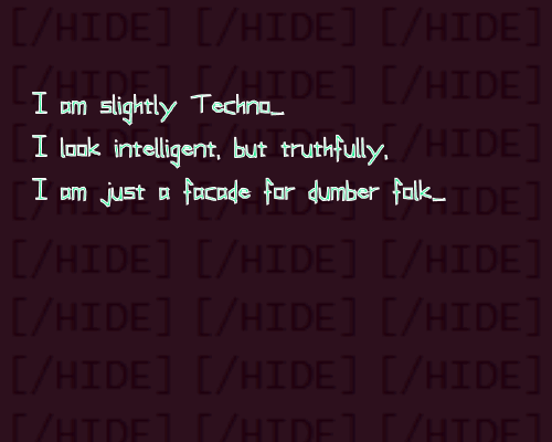 Image for Slightly Techno font
