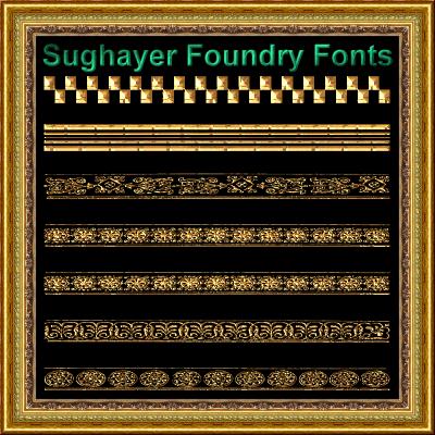 Image for Vintage Borders_012 font