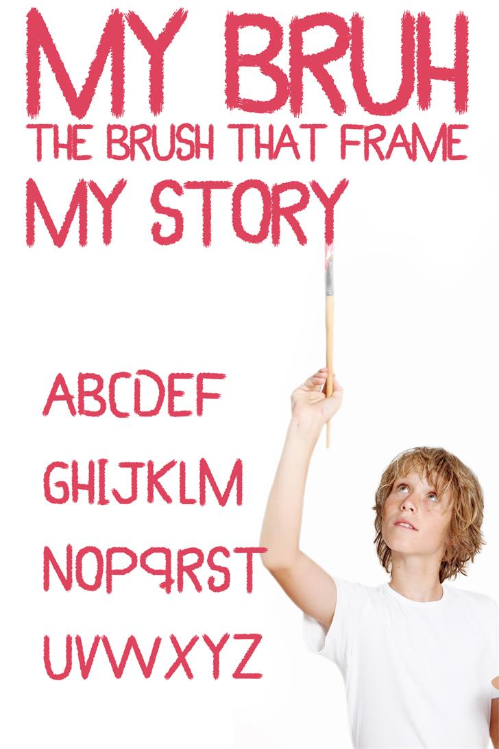 Image for My Brush font
