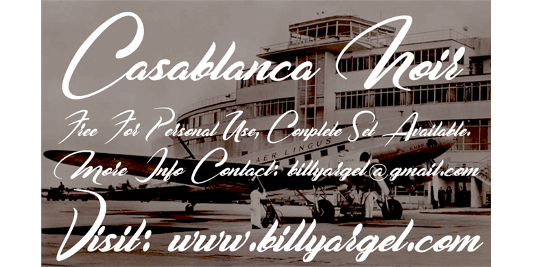 Thumbnail for Casablanca Noir Personal Use