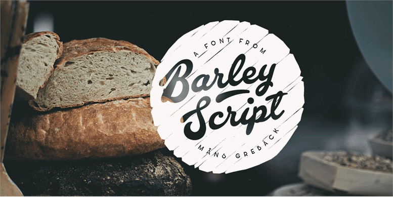 Thumbnail for Barley Script PERSONAL USE