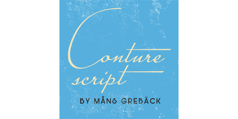 Thumbnail for Conture Script PERSONAL USE