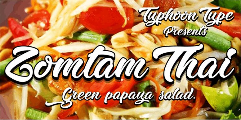 Thumbnail for Zomtam Thai