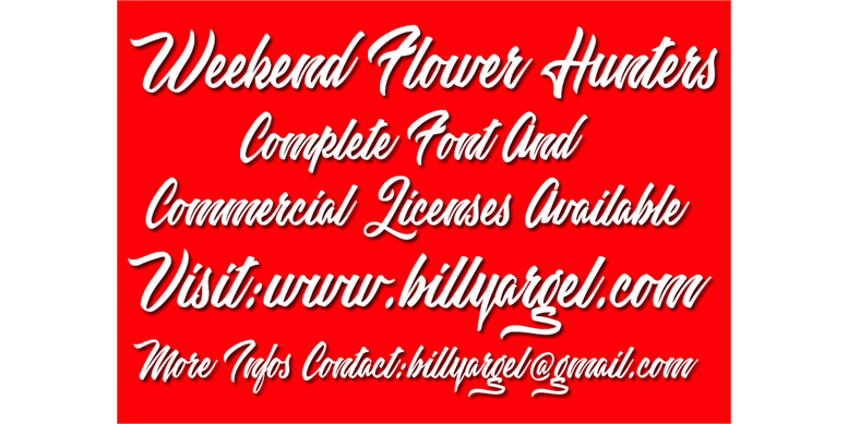 Thumbnail for Weekend Flower Hunters Personal