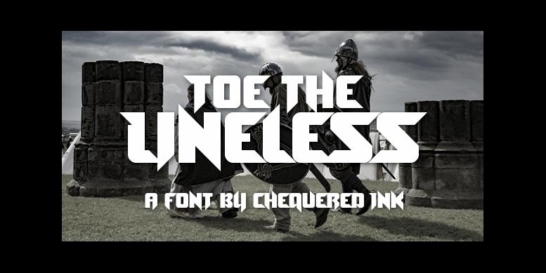 Thumbnail for Toe the Lineless