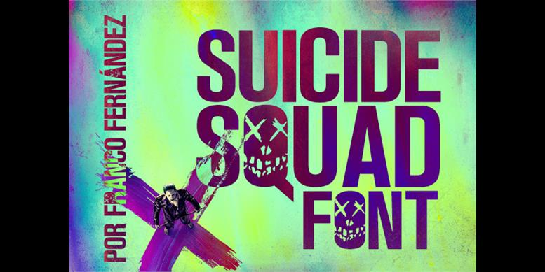 Thumbnail for Suicide Squad Font