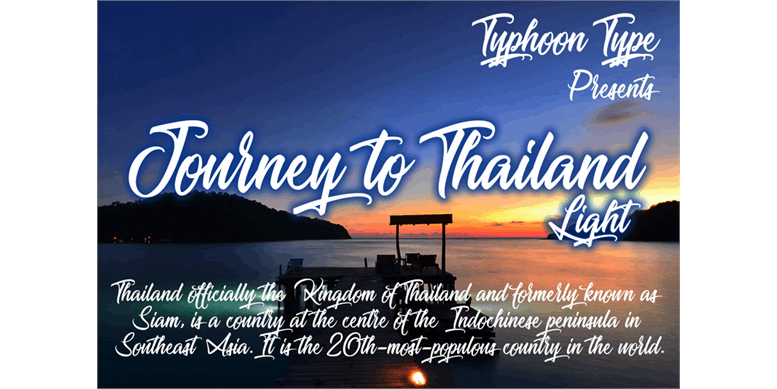 Thumbnail for Journey to Thailand Light
