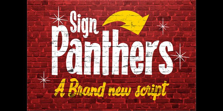 Thumbnail for Sign Panthers Script