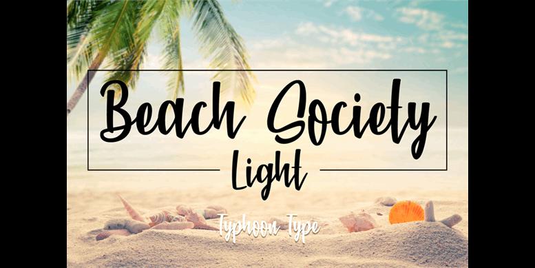 Thumbnail for Beach Society Light