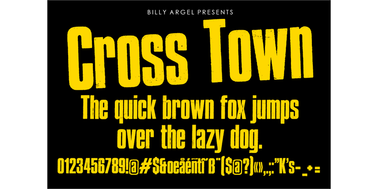 Thumbnail for Cross Town Personal Use