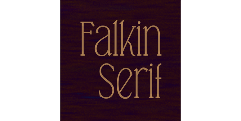Thumbnail for Falkin Serif PERSONAL
