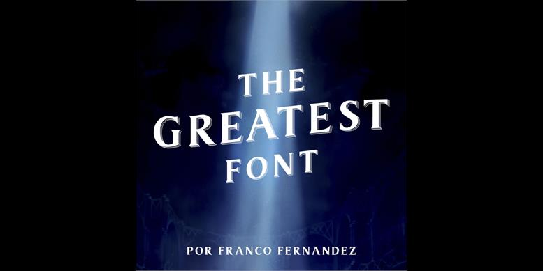 Thumbnail for The Greatest Font