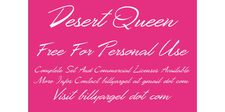 Thumbnail for Desert Queen Personal Use