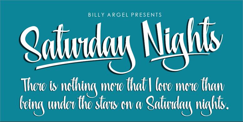 Thumbnail for Saturday Nights Personal Use
