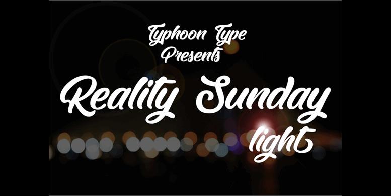 Thumbnail for Reality Sunday light