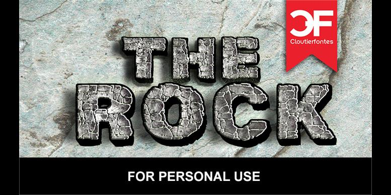 Thumbnail for CF The Rock Personal Use