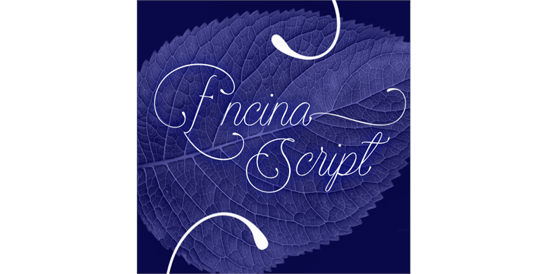 Thumbnail for Encina Script 1 PERSONAL USE
