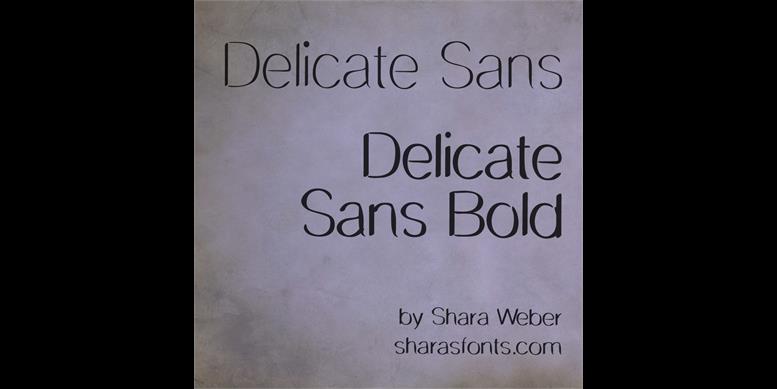 Thumbnail for DelicateSans