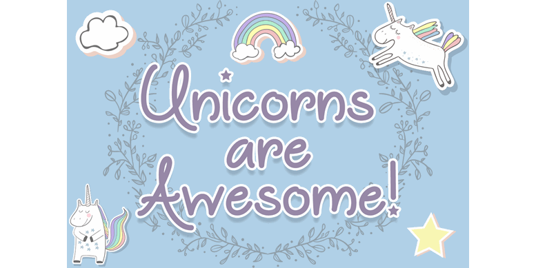 Thumbnail for Unicorns are Awesome