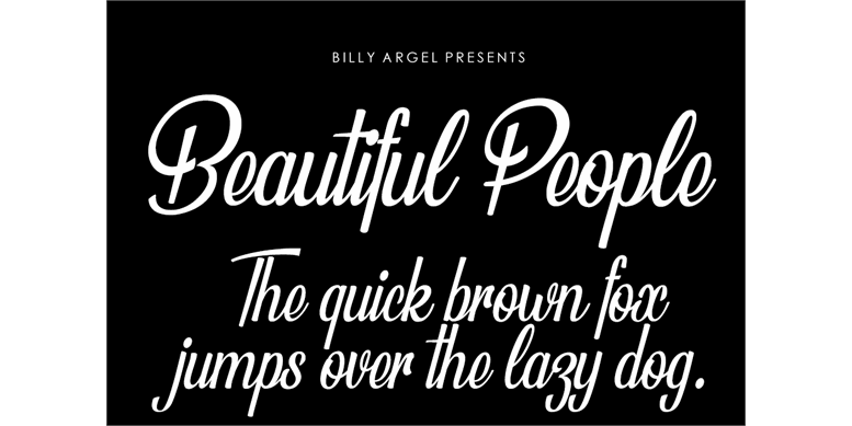 Thumbnail for Beautiful People Personal Use