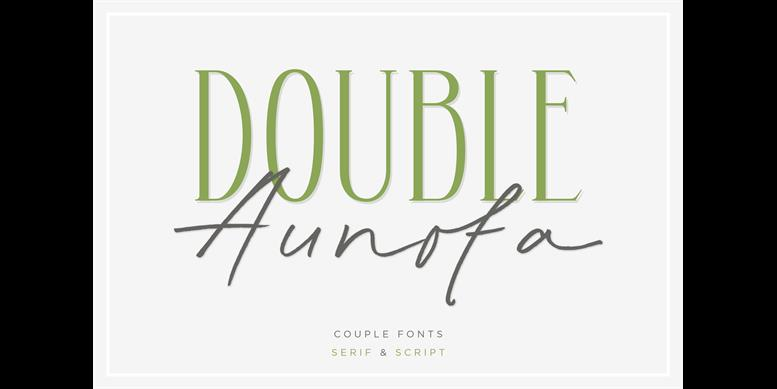Thumbnail for Aunofa Serif DEMO